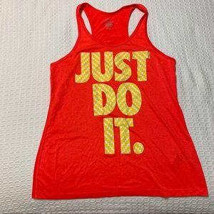 Nike Dri-Fit Women's Pink Tank Top Size Medium